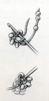 Le Crochet perlé