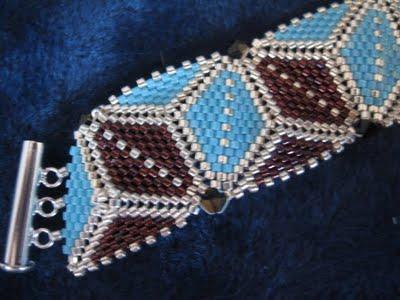 Bracelet en triangles