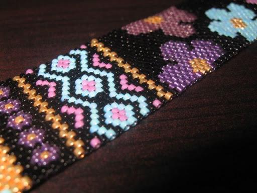 Bracelet Hippie noir