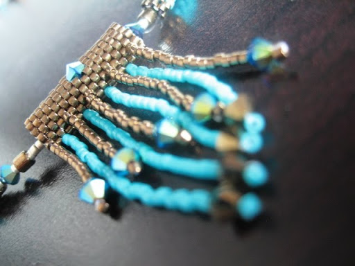 Collier Turquoise Chocolat