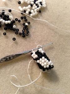 Crochet  - spirale en mailles serrées