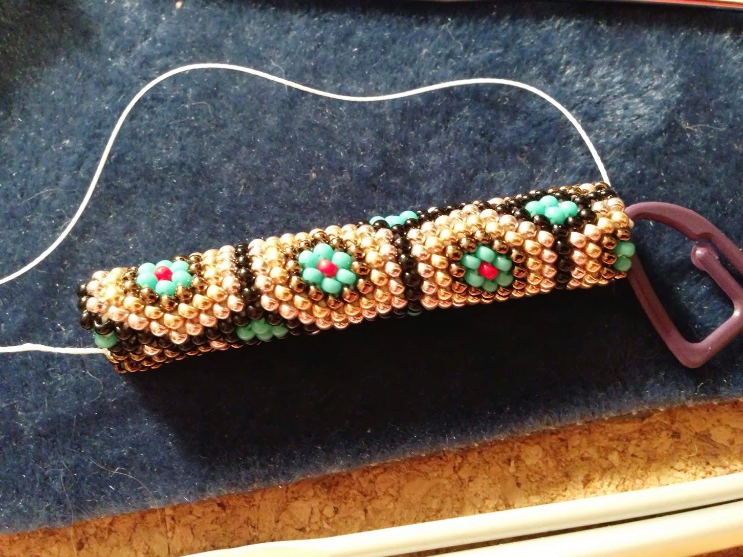 Collier au crochet - motif Tortue
