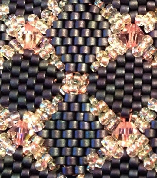 Projet Bracelet DiamondBack Peyote...