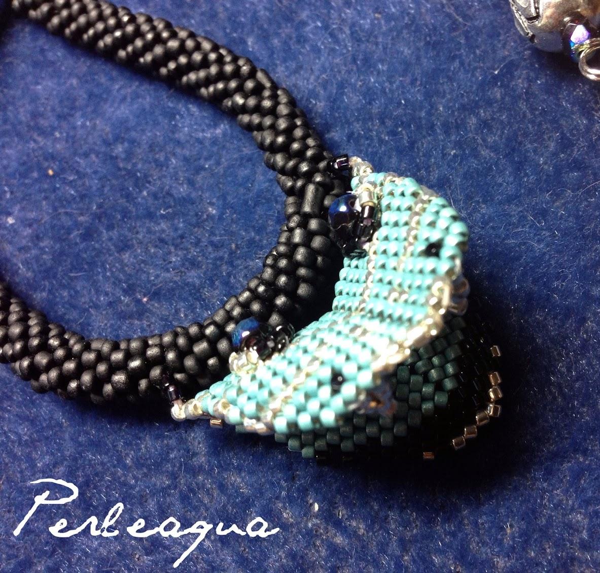 Blue snake...