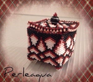Little Beaded Box terminée !