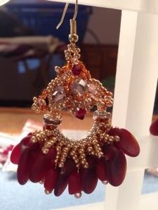 """Boucles d'oreilles """"chandelier"""""""